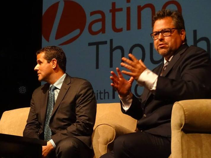 Marco Antonio Regil and Rick Najera, Latino Thought Makers Sept 2015