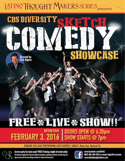 Oxnard College LTM CBS Sketch Comedy