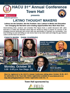 HACU Town Hall Conference, Latino Thought Makers